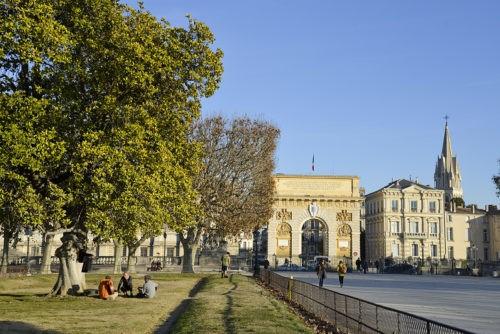 Le Peyrou - Montpellier Arc de Triomphe - Vins Montpellier - Domaine de l'Arbousier - Tourisme Hérault