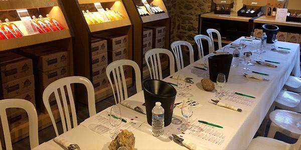 Accueil de groupe Domaine Saint Jean de l'Arbousier - Oenotourisme Hérault - dégustation de vins Montpellier