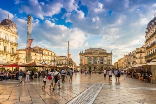 Place de la Comédie - Oenotourisme Montpellier - Domaine de l'Arbousier - Tourisme Hérault